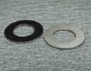 Ocelové tvrzené podložky pro kuličkový dif. Alsracing