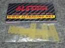 Závěsy nápravy pro mini-z MR03 standart (set 4ks - sklolaminát 0,8mm)