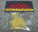 Závěsy nápravy pro mini-z MR02 speciál (set 4ks - sklolaminát 0,8mm)