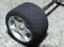 Mechové pneu zadní měkkké tvrzené (GT, nascar, makety)