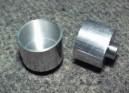 Disk duralový 20x14/2,38mm (zadní-šířka 14mm)
