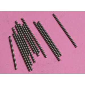 zušlechtěná leštěná ocelová hřídelka 1,5x28 (DxL)mm
