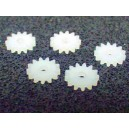 Kolo 13T/1,5-1  (kolo 13 zubů, pro osu 1,5mm, síla 1mm)