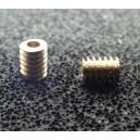 Šnek 3x4/1,5  (hlavový průměr 3mm, délka 4mm, pro osu 1,5mm)
