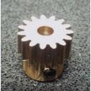 Pastorek 15T/3,17   modul 0,6 mm