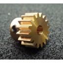 Pastorek 16T/3,17   modul 0,6 mm