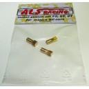 Set kovových pastorků 7,8,9 T pro miniz (modul 0,5)