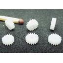 Čelní kolo 17T/2-1,5 modul 0,3mm (osa 1,5mm, šířka 2mm)