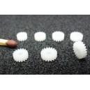 Čelní kolo 13T/2-2 modul 0,3mm (osa 2mm, šířka 2mm)